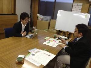 0423山科醍醐こどものひろば村井理事長を訪ねる